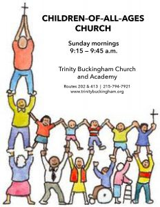 Try Our New Half-Hour Children of All Ages Sunday Morning Service