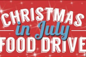 Trinity's Christmas in July (and early August!) Food Drive — an All-Parish, All-Community Event