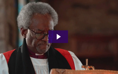 """Presiding Bishop Curry's Video Sermon """"Holding On To Hope"""" Offered at the Washington National Cathedral's Service For Healing And Wholeness"""