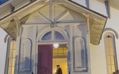 A Video of Historic Trinity Chapel's Bell Ringing for Remembrance of Covid Victims Last January 19