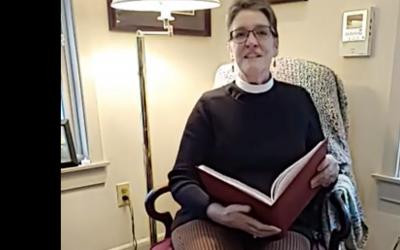 The Rev. Nancy Dilliplane's Sunday, April 18th Gospel Reflection